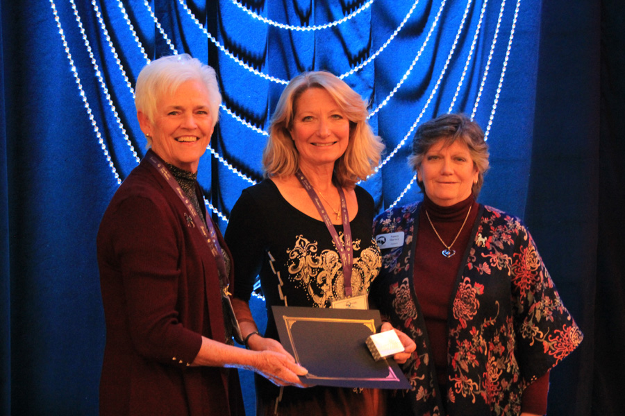 2018 Ann Marie Rossi Region2 Volunteer Award at convention